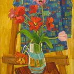 Выставка «Мелодии лета» новгородского  художника  Светланы Акифьевой