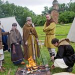 В Великом Новгороде прошел фестиваль раннесредневековой ремесленной культуры