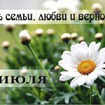 Во всех районах Новгородской области прошли праздничные мероприятия, посвященные Дню семьи, любви и верности