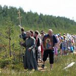 Село почтило  память святых праведных отроков Иоанна и Иакова Менюшских