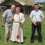 Вяземский Юрий Павлович посетил «Славянскую деревню X века» в Любытинском районе