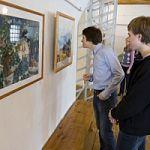 Выставка работ победителей областного конкурса