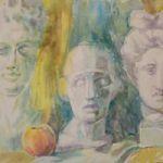 Передвижная выставка  «Поэзия натюрморта» в Шимском районе