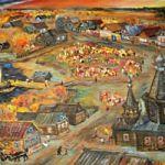 Персональная  выставка «Времена года» Сергея   Куликова (Великий Новгород)