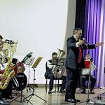 Музыкальный коллектив  «Новгород-брасс» в Малой Вишере