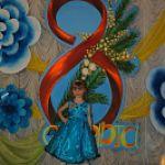 Детский конкурс красоты и талантов «Мини Мисс – 2013» в Любытинском районе