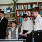 Литературно-музыкальный вечер «Певец святой Руси» в Любытинском районе