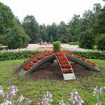 Новая цветочница в сквере С.В.Рахманинова