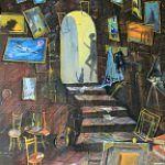 Выставка новгородского художника-сюрреалиста Валерия Дмитриева