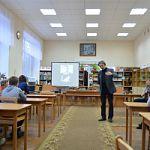 Встреча юных читателей Старой Руссы  с  руководителем историко-исследовательского клуба «СВ-Поиск» ( Москва)