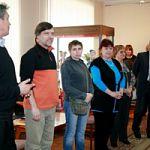 Преподаватели кафедры изобразительных искусств представили свои работы в выставочном зале НовГУ