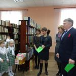 Новоселье детской библиотеки в п.Парфино