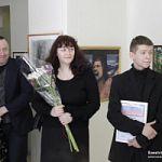 В Боровичах  открылась выставка юного художника  Богдана Терентьева