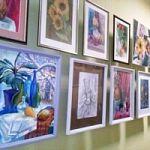 Выставка творческих работ студии изобразительного искусства «Триптих»