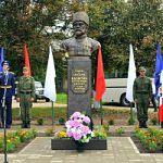 В Холмском районе открыт памятник герою Первой мировой войны Петру Калитину