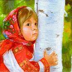 Выставка живописи Ольги Синиловой «Время детства» в Окуловском районе