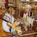 Стажировки по ткачеству в областном Доме народного творчества