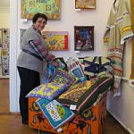 Выставка работ  валдайских мастериц клуба «Лоскутная полянка»