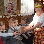 В Демянском районе состоялся фольклорный праздник для детей «Русская чудо-печка»