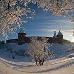 Великий Новгород входит в топ -10 городов для отдыха в новогодние каникулы