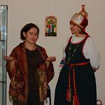 В районном краеведческом музее г.Малая Вишера  открылась персональная выставка  Марины Саранчуковой