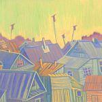 Передвижная выставка новгородского художника Ольги Гусевой «Размышления…» в Маревском районе