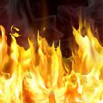 В Панковке сгорела дача