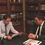 Андрей Никитин рассказал Владимиру Мединскому о выполнении его поручений