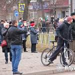 Сегодня в Великих Луках «бочка» для Белорусской АЭС вызвала ажиотаж