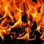 Сегодня ночью на пожаре в Шимском районе погиб мужчина