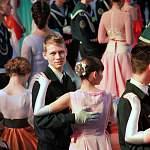 В Калининграде состоялся большой кадетский бал с участием новгородцев
