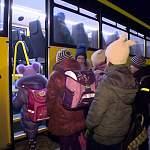 Новые школьные автобусы вышли в первые рейсы по Новгородской области
