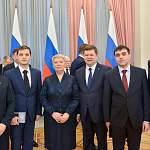 Руководителю НовГУ Юрию Боровикову вручена премия Правительства РФ