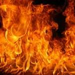 Ночью в Великом Новгороде сгорела легковушка