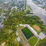 В новгородском парке 30 лет Октября в этом году могут появиться новые детские и спортивные площадки