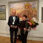 Татьяна Со-До представила в Санкт-Петербурге пейзажи новгородской усадьбы Суворова