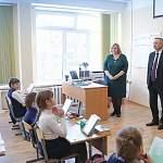 Андрей Никитин и Александр Беглов посетили гимназию «Гармония»