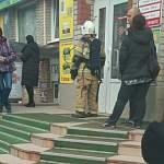 В новгородском ТЦ «Барк» система пожаротушения среагировала на горящую проводку