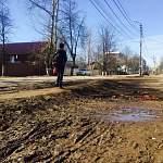 Ни пройти, ни проехать - это о состоянии боровичских тротуаров