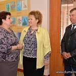 Елена Писарева посетила Мошенской район