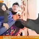 REN TV снабдил сюжет о новгородском наводнении страшными кадрами из другого региона