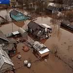 Бывалых жителей Крестец наводнение не впечатлило