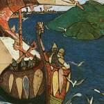 Из Старой Ладоги в Великий Новгород приплывут гости и варяги