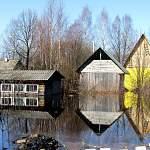 В пострадавших районах Новгородской области отступают весенние воды