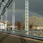 Чудо-радуга помогла боровичанам узнать погоду на майские праздники
