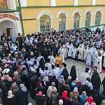 Митрополит Лев принял участие в отпевании старца-духовника Псково-Печерского монастыря, ветерана войны