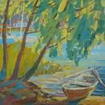 Виртуальная выставка художницы Оксаны Немолочновой «Берега»