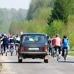 В Поддорском районе сегодня состоялся велопробег в честь Дня Победы