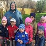 Поддорские детсадовцы рассказали взрослым землякам о  Георгиевской ленточке