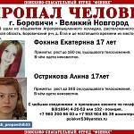В Новгородской области уже пять дней разыскивают двух пропавших 17-летних девушек